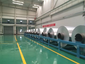 Ketebalan 0,006mm - 0,2mm Aluminium Sheet Roll Jumbo Roll Alloy 8011/8006